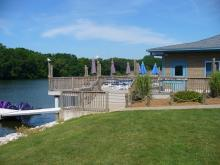 View of the Boathouse deck.