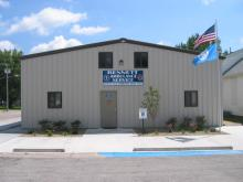 Picture of Bennet ambulance station.