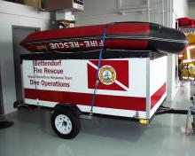 Bettendorf dive operations trailer.