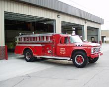 Durant Fire Pumper Tanker Truck