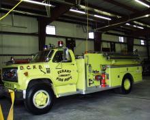 Durant Fire Pumper Truck
