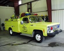 Durant Fire Rescue Brush Truck