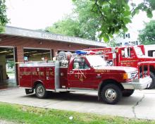 Eldridge Fire Truck
