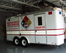 Bettendorf Haz-mat rescue unit.