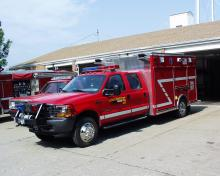 Long Grove Rescue Truck