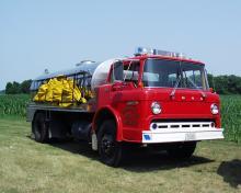 McCausland tanker truck.