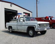 New Liberty brush truck.