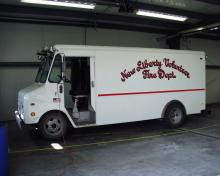 New Liberty equipment van.