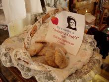 A basket of cookies.