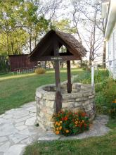 A well on the site of Cody Homestead