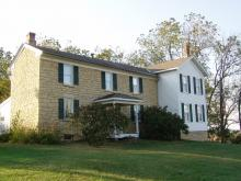 The Cody Homestead home.