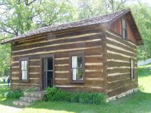 This is Schaff Cabin.