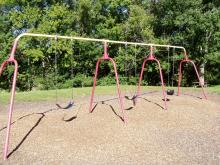 Set of swingsets.