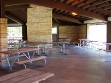 Interior of Whispering Pines.