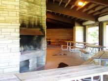 Fireplaces in Whispering Pines.