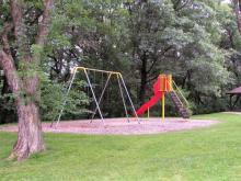 Playground located near the Cody Lake shelter.