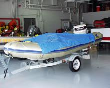 Bettendorf swift water rescue boat.