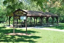 High Meadows picnic shelter.