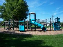 Playground at Park Terrace Campground.