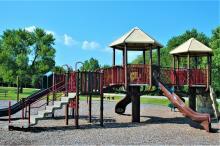 Rolling Hills playground equipment.