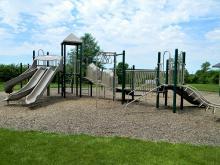 Playground at Summit Campground.