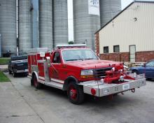 Walcott Fire Truck