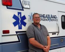 the Wheatland ambulance president.