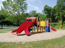 Playground at Buffalo Shores.