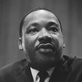 This is Martin Luther King Jr.