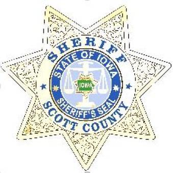Scott County Sheriff - State of Iowa - Sheriff's Seal - star.