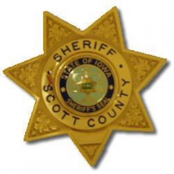 Scott County Sheriff star badge.