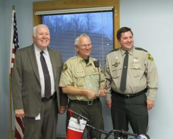 Sheriff Conard, Office Rupe, and Major Gibbs