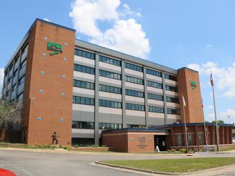 Scott County Administrative Center in 2021.