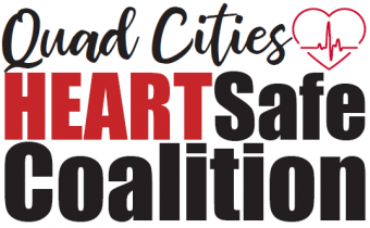 Quad Cities Heart Safe Coalition Logo.