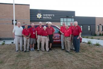 Members of Scott County Iowa Sheriff VIPS.