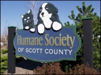 Human Society street sign.