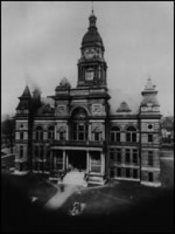 The Second Scott County Courthouse