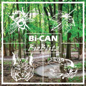 Bi-CAN BioBlitz event logo.