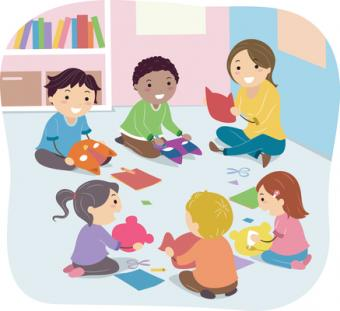 This is a picture of a story time