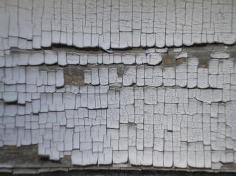 Lead Paint Crackle on Wood Siding