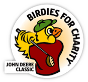 This is the Birdies for Charity Logo,