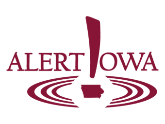 The Alert Iowa logo.