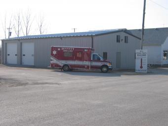 Bennet ambulance and station.