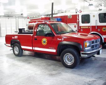 Buffalo Fire Truck