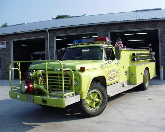 Dixon Fire Engine