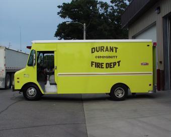 Durant Fire Equipment Truck