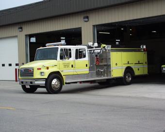 Durant Fire Freightliner Pumper Truck