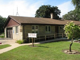 Scott County Conservation Headquarters.