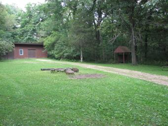 This is the Vincent Campsite including access road.