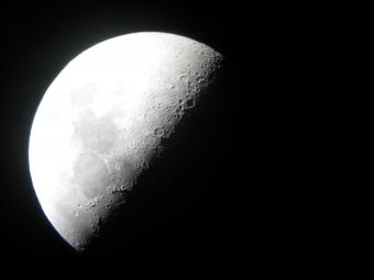 Image of the Moon from Menke Observatory.